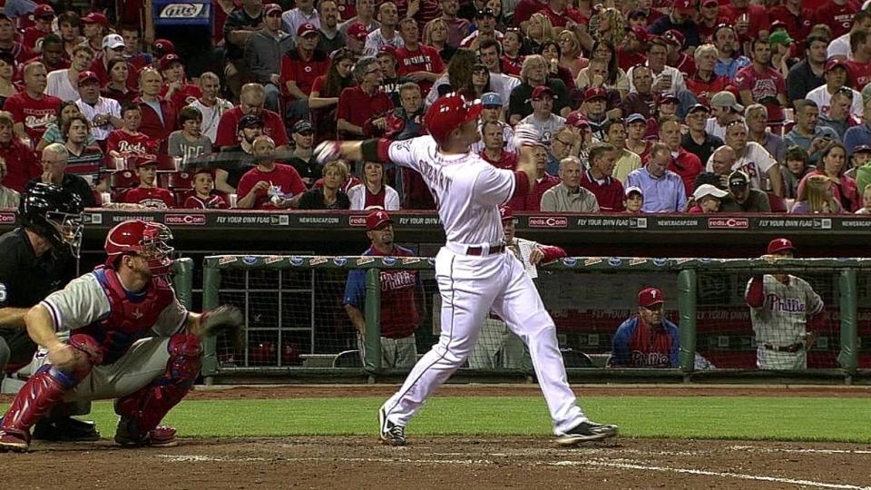 Cozart's two-run homer