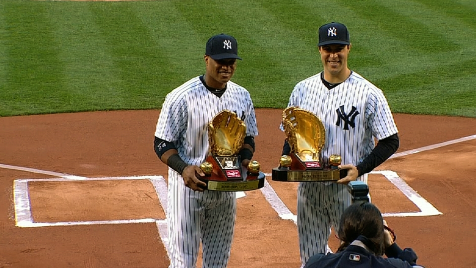 Cano, Tex get Gold Glove Awards