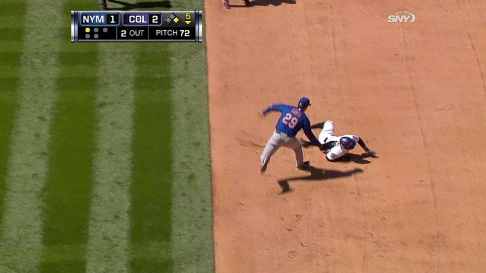 Niese picks off Young
