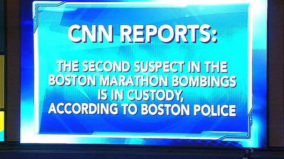 Rays fans react to Boston arrest