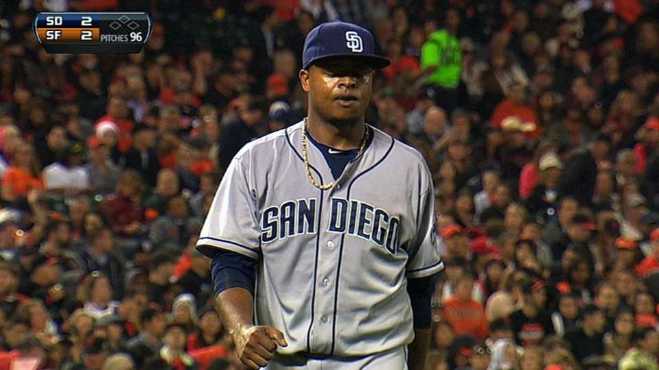 Volquez's good outing