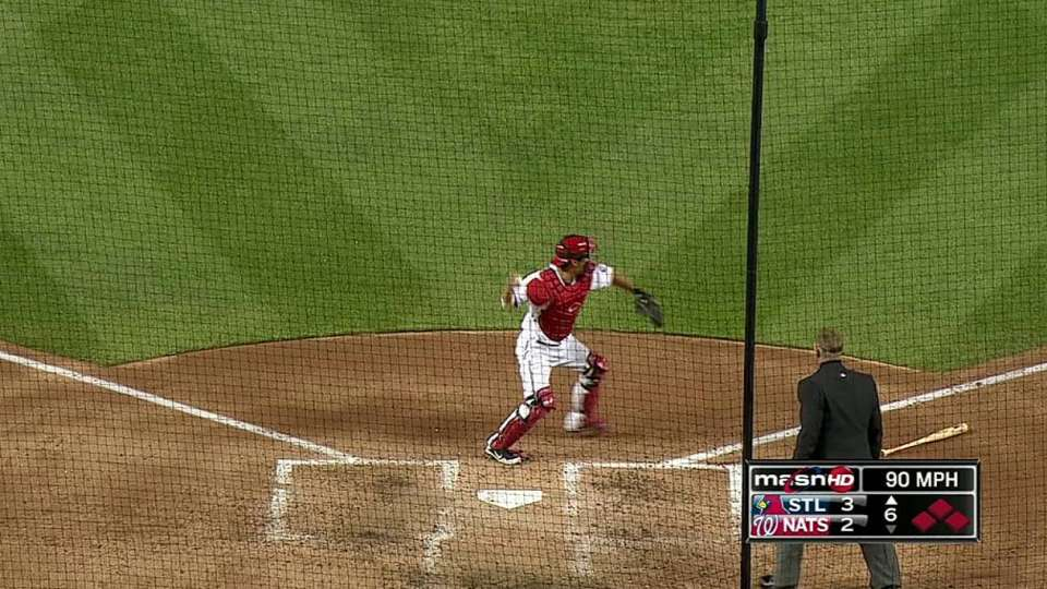 Stammen induces a double play