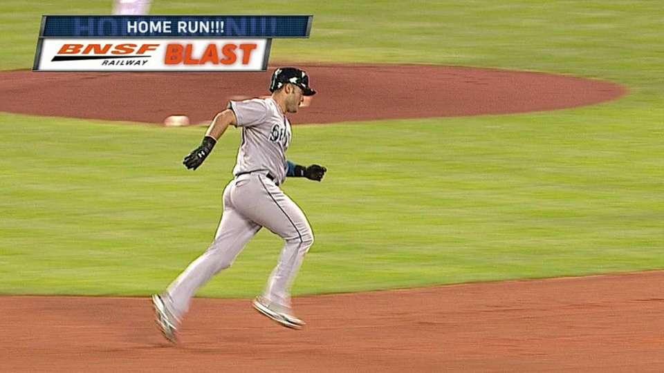 Montero's two-run dinger