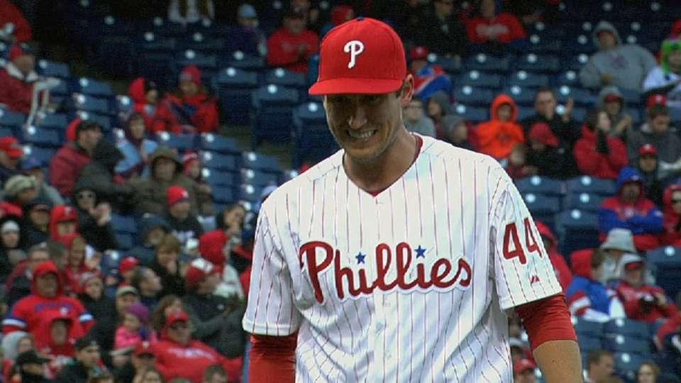 Pettibone's solid MLB debut