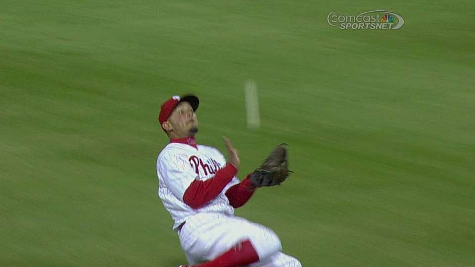 Galvis' nice catch