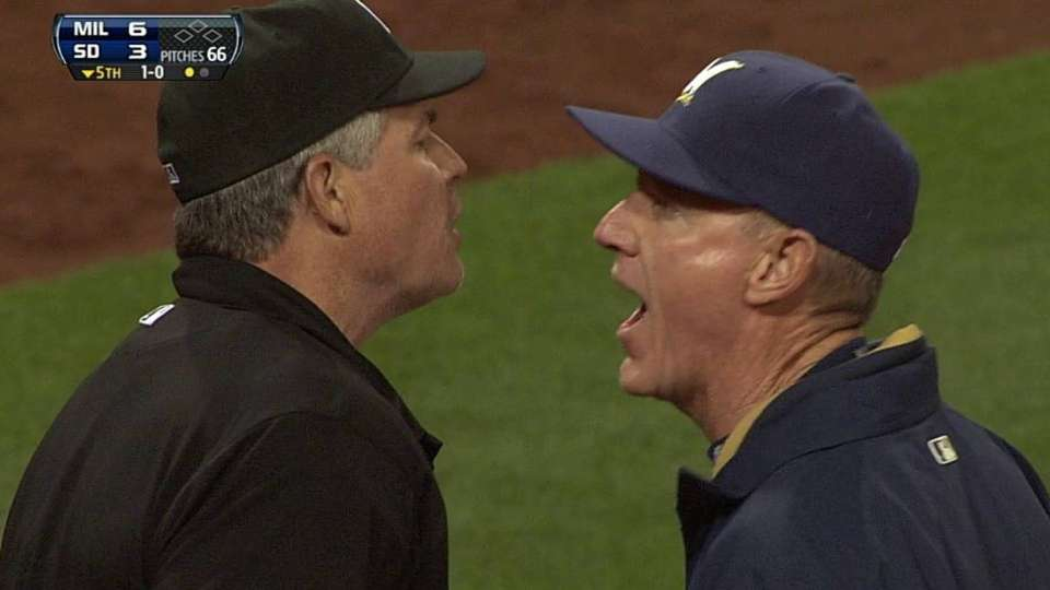 Roenicke's ejection
