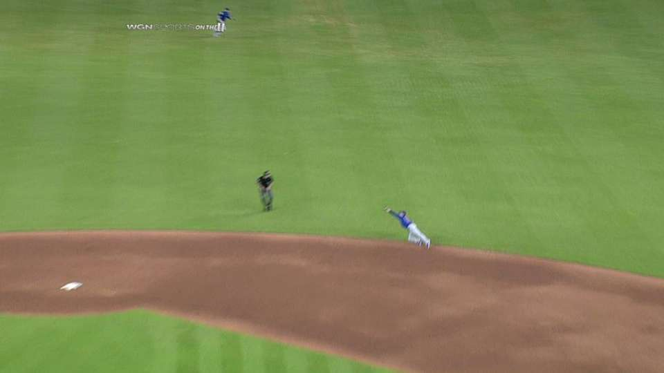 Barney's sweet diving catch