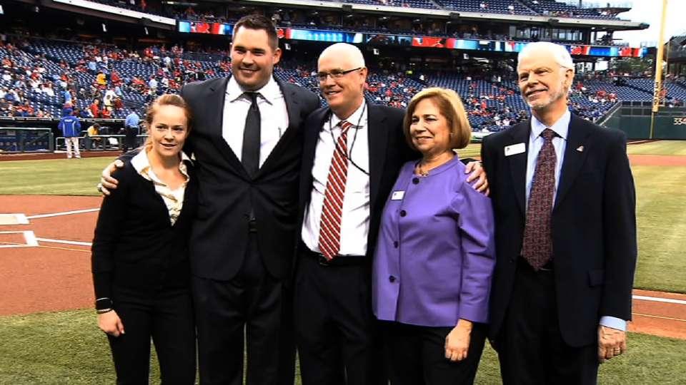 Phillies honor ALS assocation