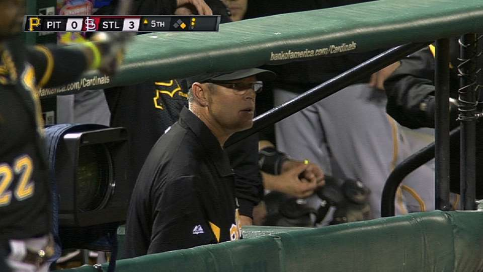 Bell ejected after Marte is hit