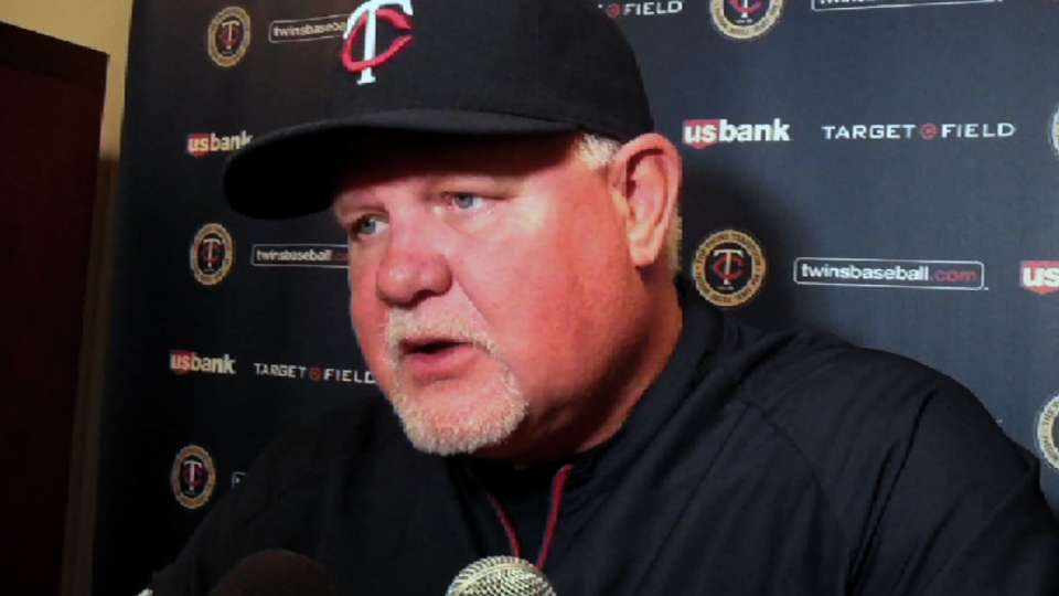 Gardenhire on halted Twins rally