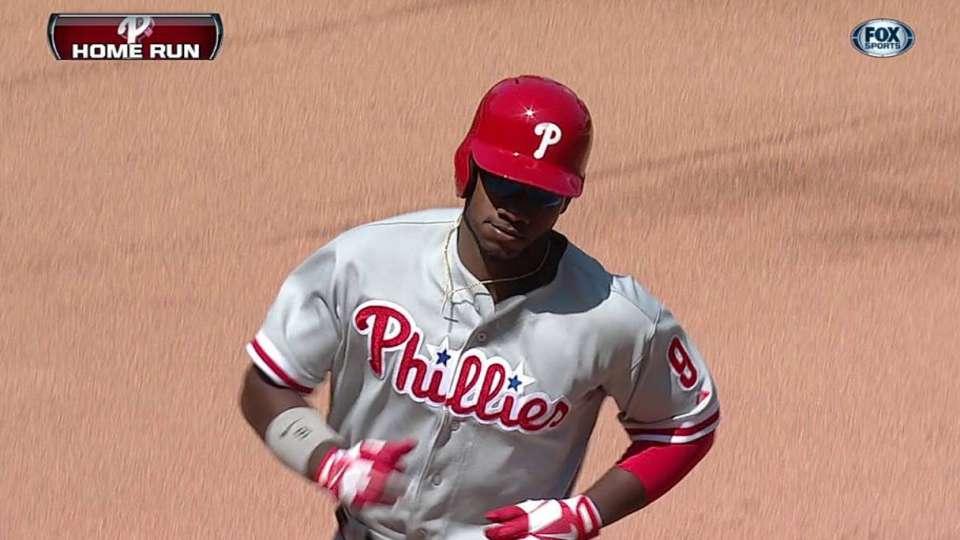 Brown's three-run homer