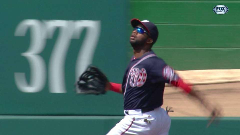 Span's phenomenal catch