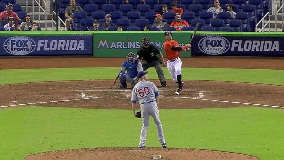 Stanton's second homer of game