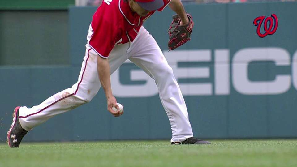 Rendon's barehanded play