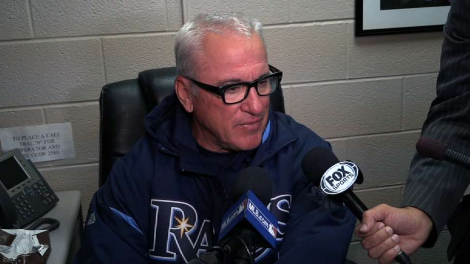 Maddon on Hellickson's ejection