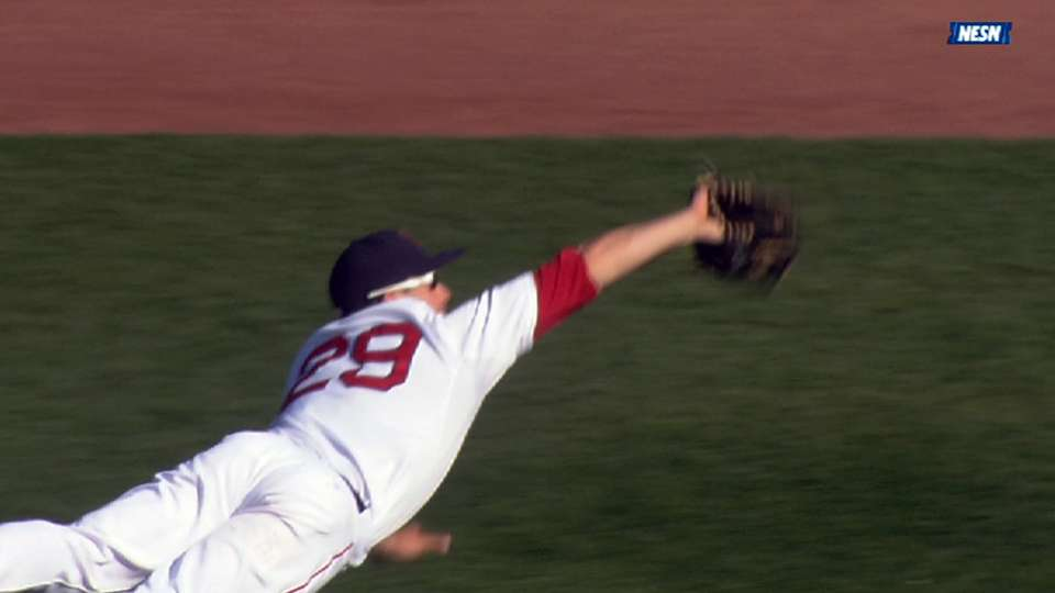 Nava's diving catch