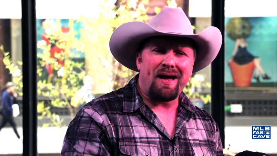 Tate Stevens at the Fan Cave