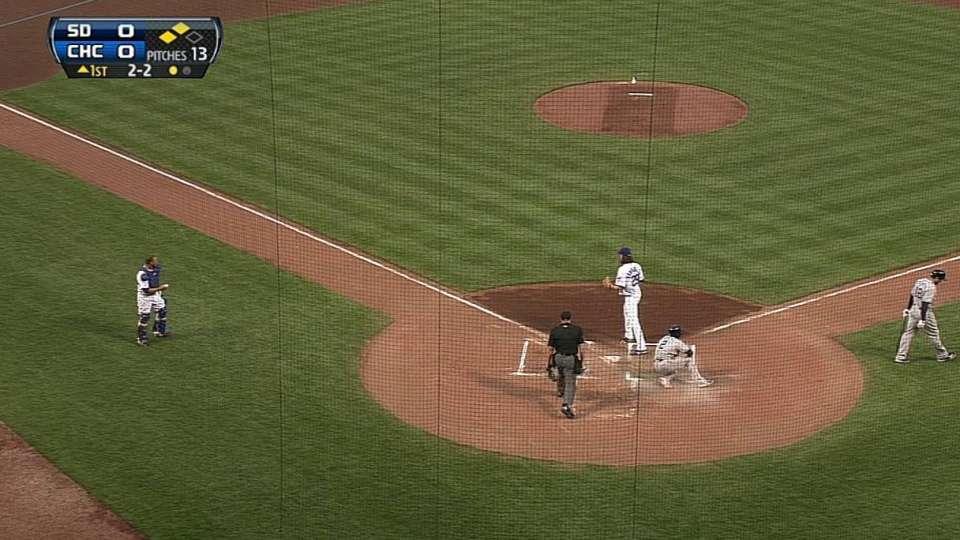 Cabrera scores on wild pitch