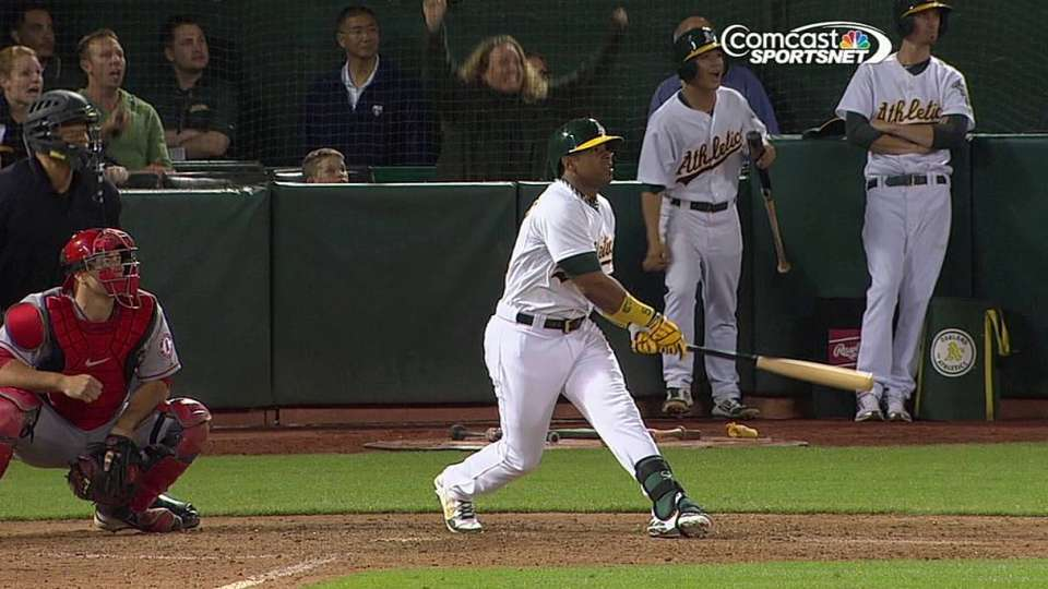 Cespedes' game-tying single