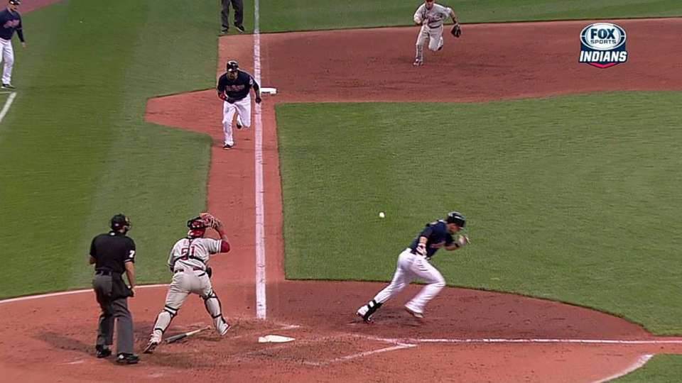 Raburn's RBI single