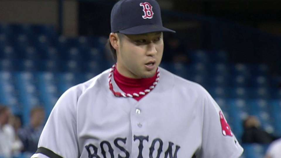 Tazawa works out of trouble