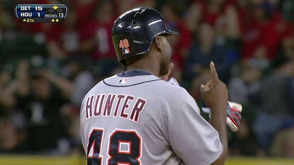 Hunter's RBI double