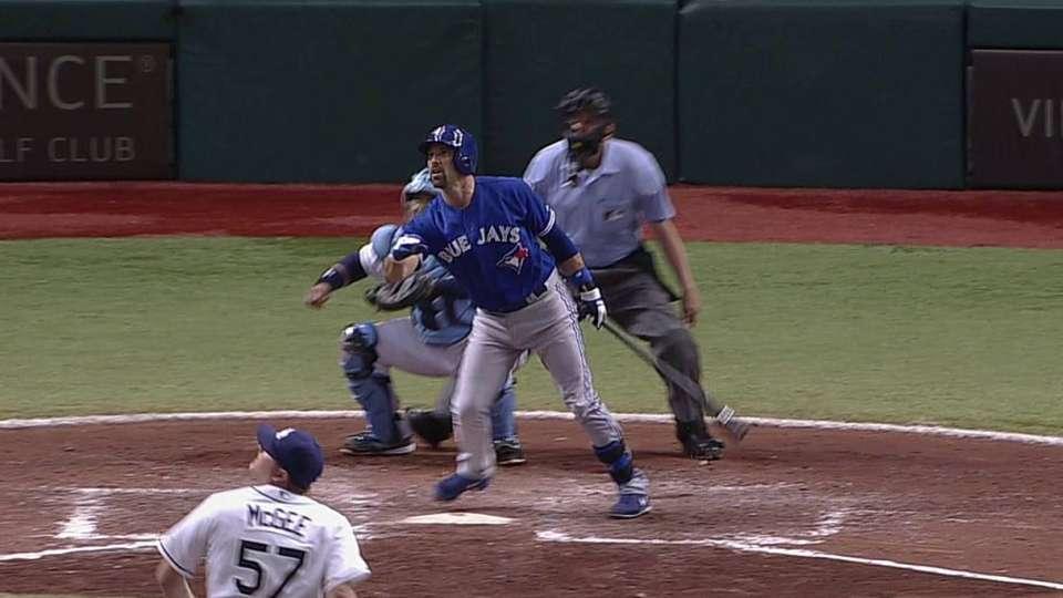 DeRosa's two-run home run