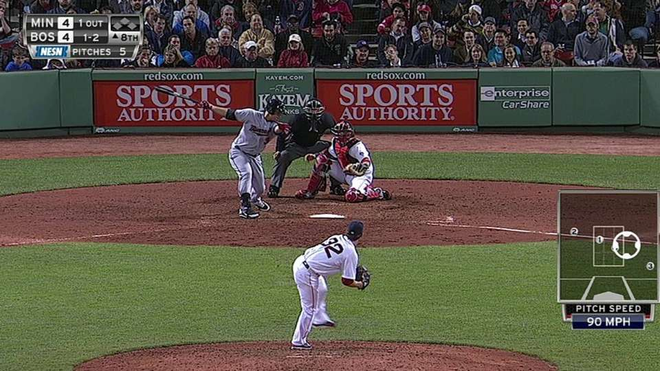 Breslow strikes out Arcia