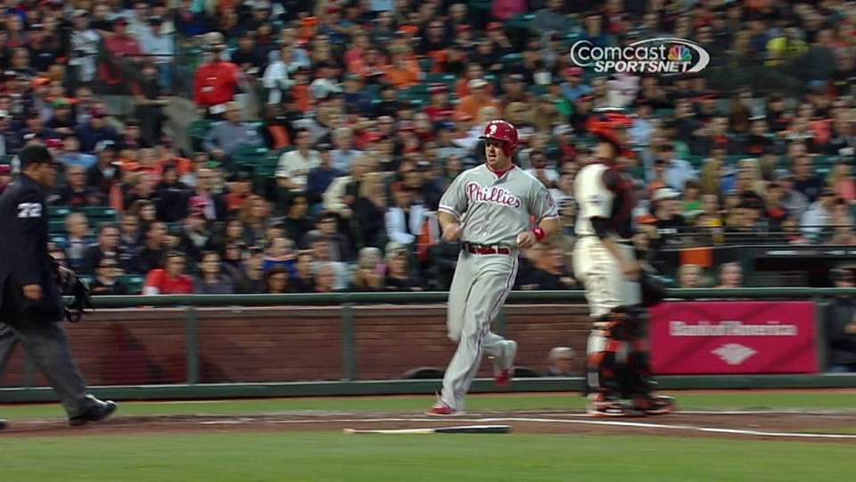 M. Young's two-run double