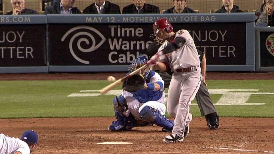 Ross' solo home run