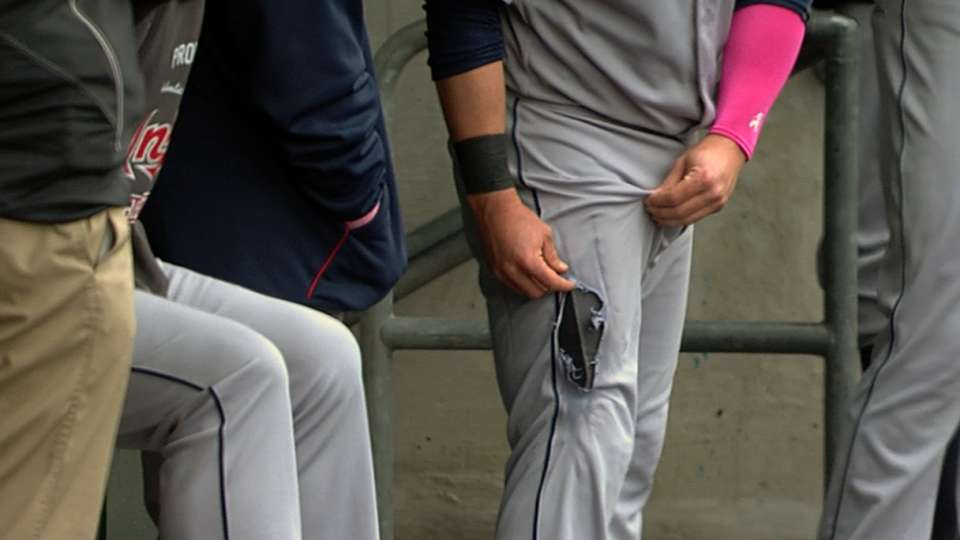 Kipnis has a hole in his pants