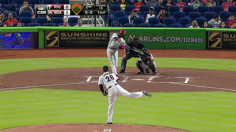 Brown's solo shot