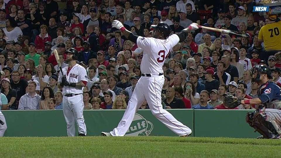 Ortiz's three-run homer