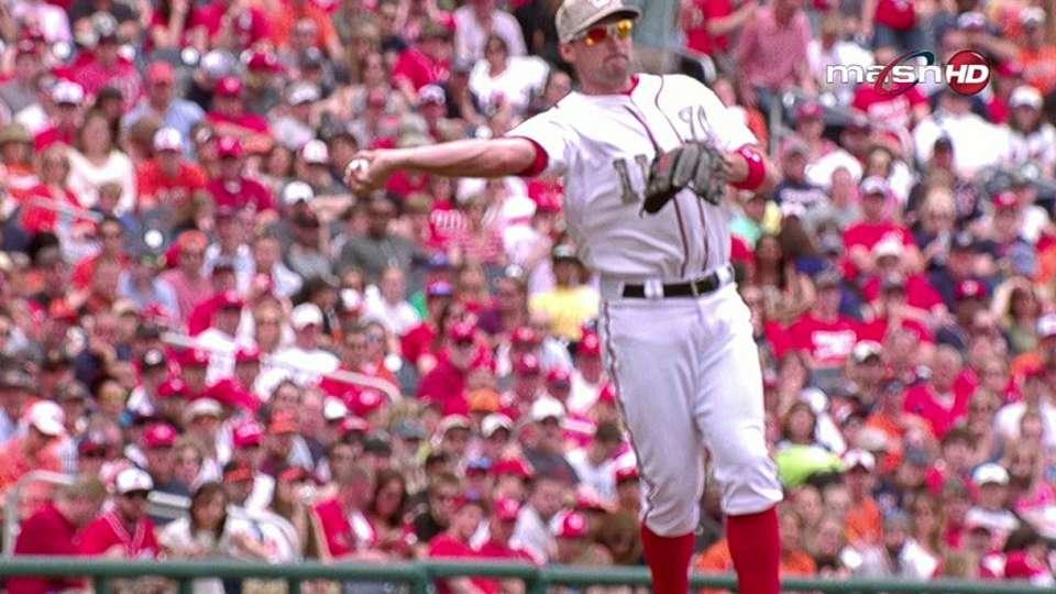 Zimmerman's tough throw
