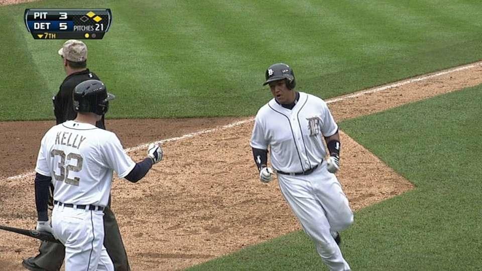 Peralta's second RBI hit