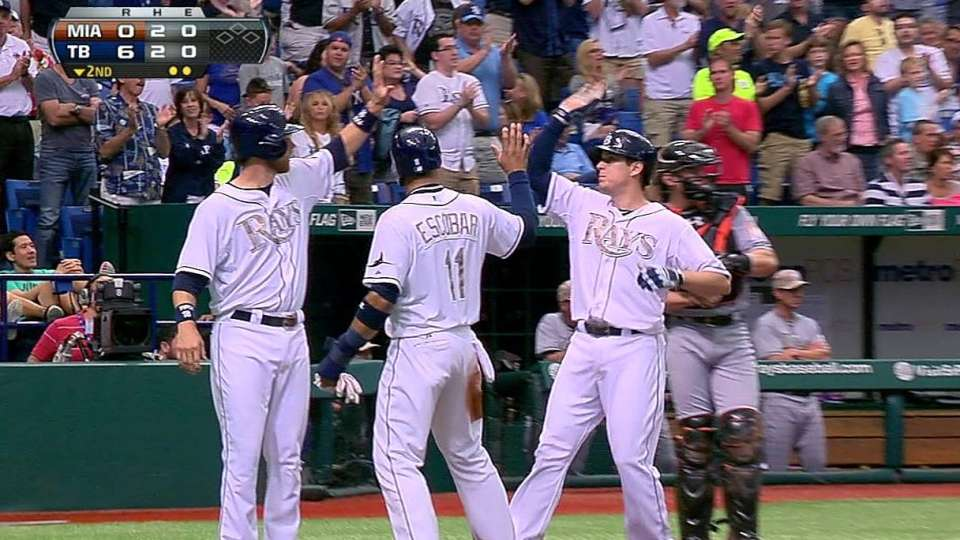 Johnson's three-run homer