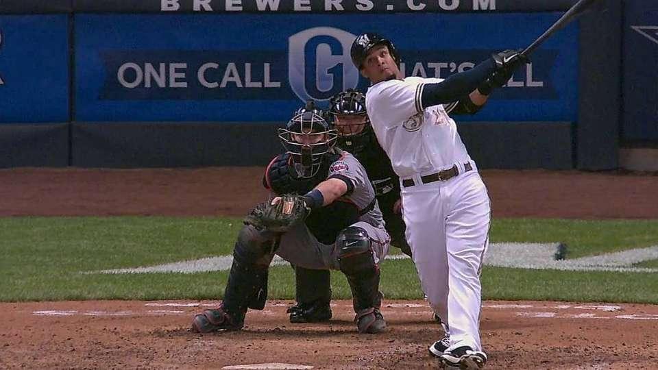 Gomez's second solo home run