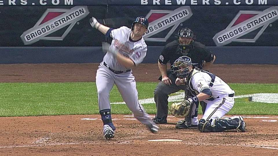 Parmelee's solo home run