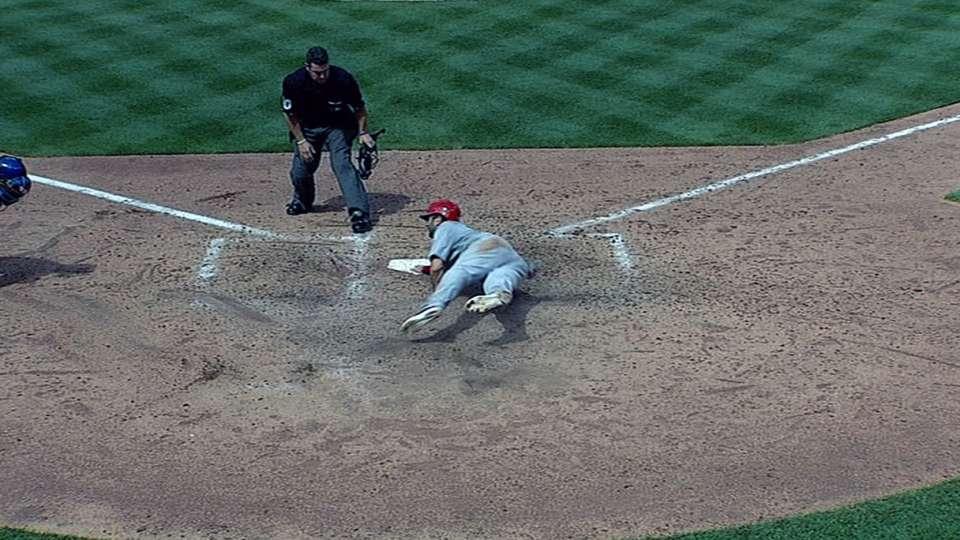 Carpenter's RBI double