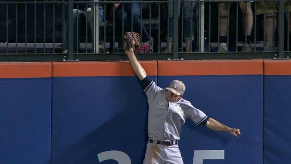 Gardner's phenomenal catch
