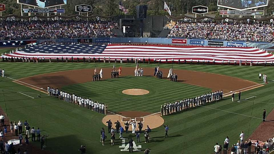 Memorial Day at Dodger Stadium