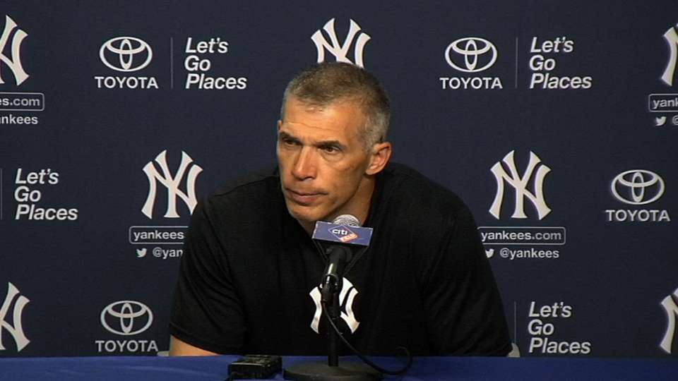 Girardi on Robertson's outing