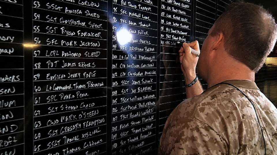 Vet knows names of 2,000 fallen