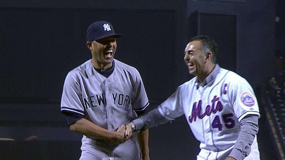 Mets honor Mo