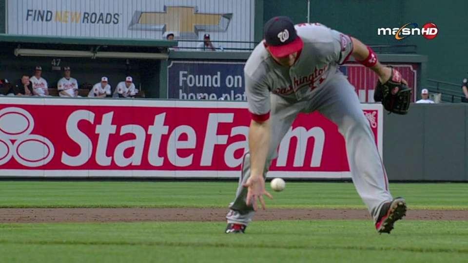 Zimmerman's barehanded play
