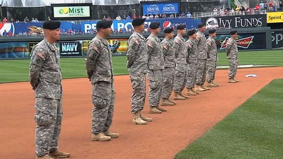 Armed Forces Day ceremony