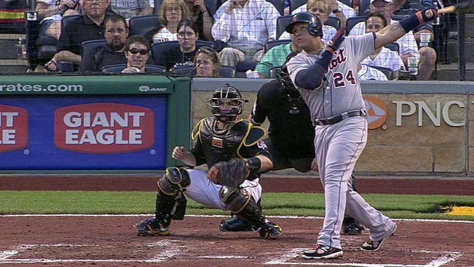Cabrera's two-run homer