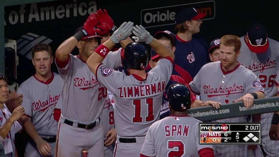 Zimmerman's third home run