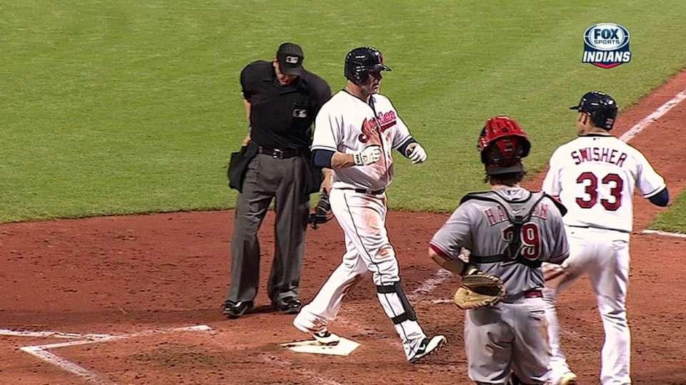 Giambi's three-run homer