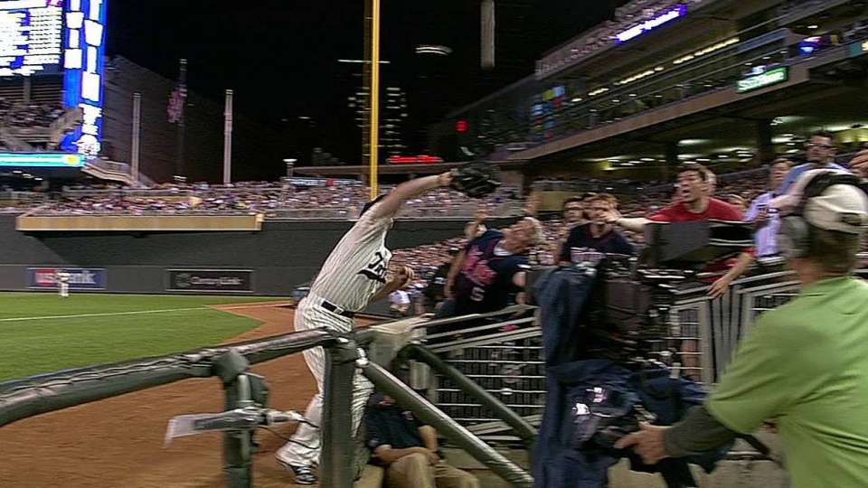 Parmelee's great catch